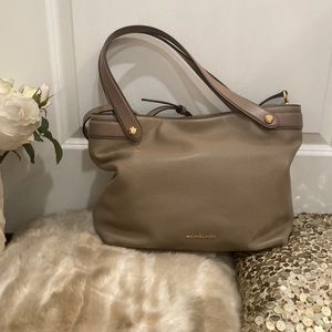 Michael Kors Dark Dune Hyland Convertible Tote Bag